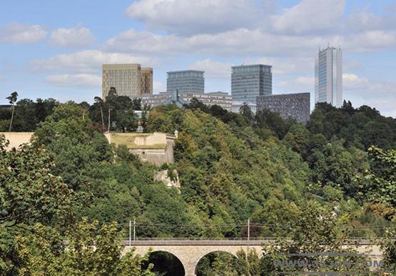欧洲卢森堡公国 高原基希贝格 城镇化 发展基金 水塔项目设计大赛