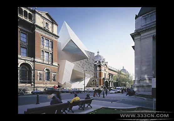 建筑师杂志 网站 詹姆士-帕利斯特 丹尼尔-里伯斯金 设计大赛