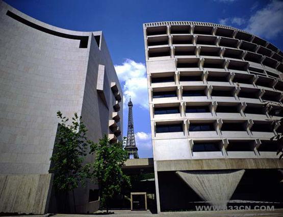 哈里-塞德勒 几何学比较图 澳大利亚大使馆 壳牌公司总部 香港俱乐部