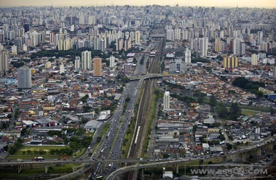 巴西 圣保罗市 城市规划 亚历山大-德利简科夫 街景