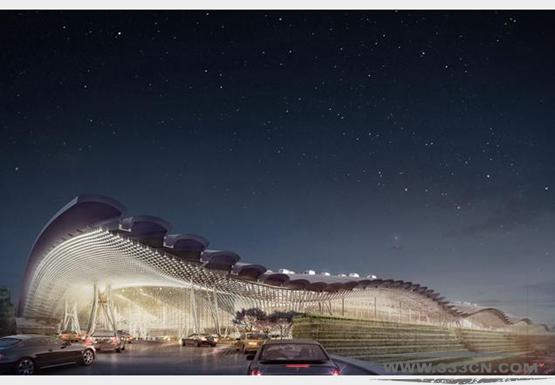 罗杰斯 建筑师团队 国际竞争 台湾地区 桃园国际机场