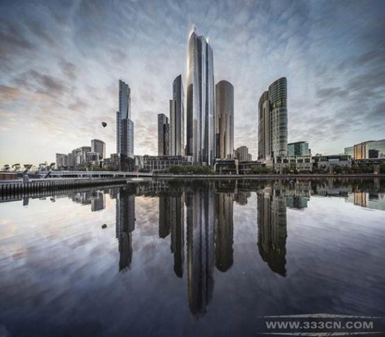威尔金森-艾尔 福斯特 努维尔 澳大利亚 第二高楼 设计