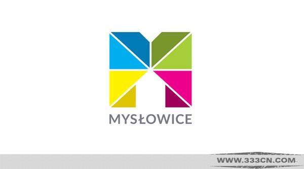 波兰梅斯沃维采 Mysłowice 城市LOGO 设计大赛 创意