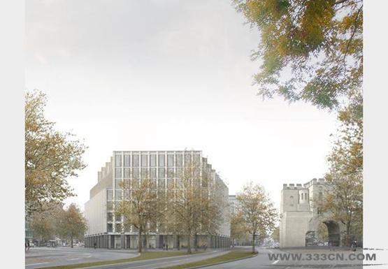 卡鲁索-圣约翰 德国 科隆 建筑项目 设计大赛