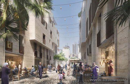 英国 福斯特建筑事务所 国际竞争 开罗 总体规划