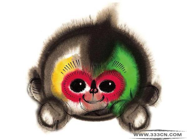 福娃设计者 韩美林 2016年猴年春晚 吉祥物 康康