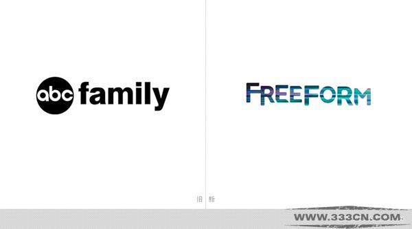 美国 ABC-Family 更名 Freeform 新LOGO 设计大赛