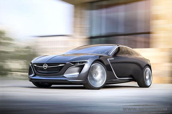 德国 欧宝 全新概念汽车 GT标识 日内瓦车展 设计大赛