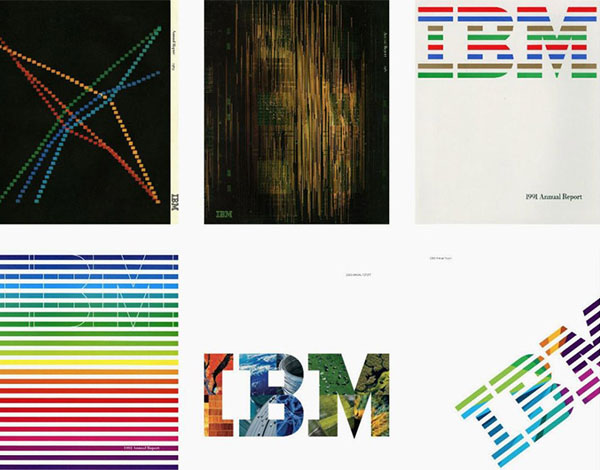 IBM Logo案例 创意 设计大赛 创意