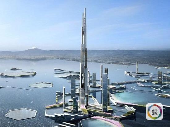 天空英里塔 日本 世界第一高楼 1700米 设计大赛