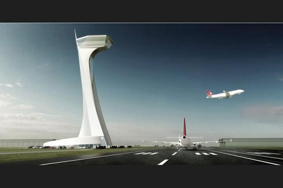 设计巨头 伊斯坦布尔机场 塔楼 扎哈-哈迪德 格雷姆肖 设计大赛