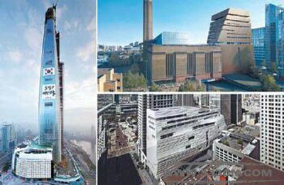 BBC 评选 世界8大建筑 乐天世界塔 Canaletto