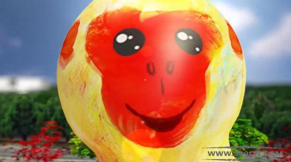 台北灯节 福禄猴 造型 康康 吉祥物