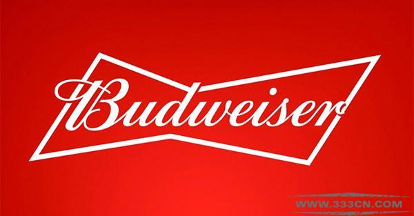 百威啤酒 Budweiser 扁平化 新LOGO 新包装