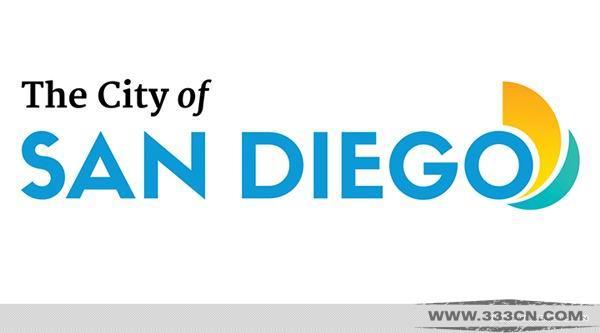 圣地牙哥 San Diego 城市形象 标识 logo