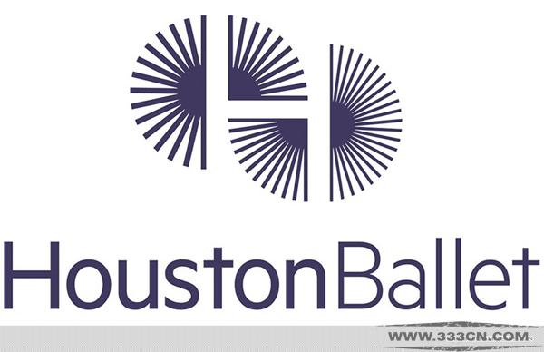 休斯顿 芭蕾舞团 HOUSTON-BAEELT 新LOGO 创意 logo设计