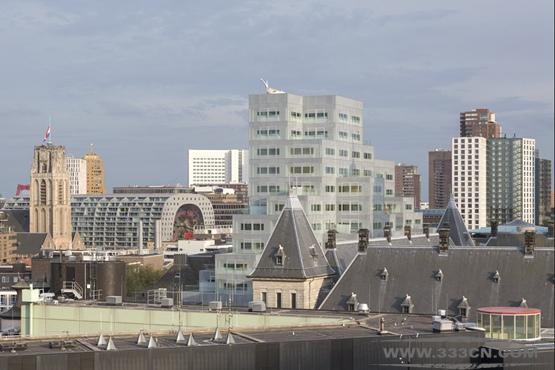OMA 鹿特丹 市政办公楼 项目 公共空间