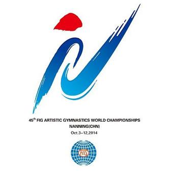gym2014 emblem 第四十五届世界体操锦标赛会徽吉祥物在南宁揭晓