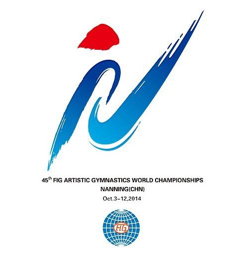 gym2014 emblem 2 第四十五届世界体操锦标赛会徽吉祥物在南宁揭晓