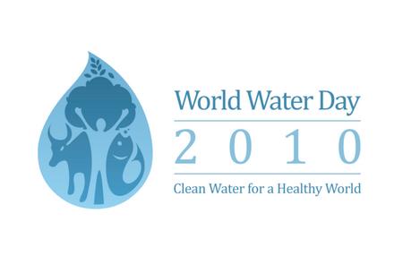 world water day 2010 logo 2010世界水日标志