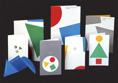 moca stationery design 三十年一轮回:洛杉矶当代艺术博物馆LOGO