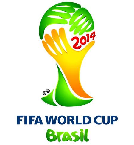 "2014brazilwclogo 2014年世界杯官方会徽公布 取名""激励"""