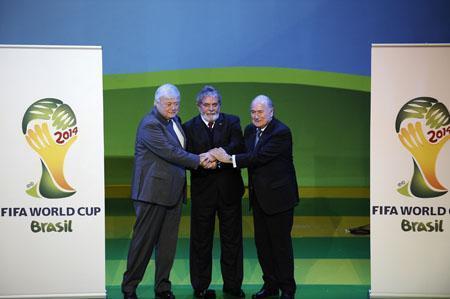 """1278624246 1825141007 2014年世界杯官方会徽公布 取名""""激励"""""""