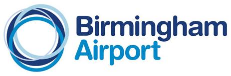 "Birmingham new logo 伯明翰机场去掉""国际""换新品牌形象"