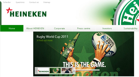 HEINEKEN company logo change 01 喜力公司启用新企业标识
