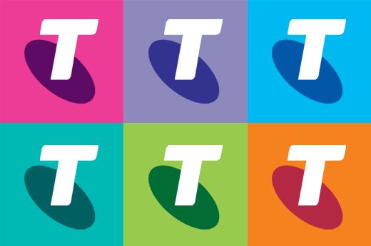 Telstra Warhol 澳大利亚最大的电信公司澳洲电信(Telstra)启用新标识