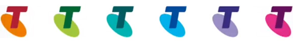 telstra colour logos 澳大利亚最大的电信公司澳洲电信(Telstra)启用新标识