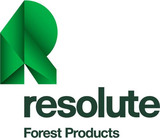 Resolute Forest Products logo 2011 加拿大著名木材制品和制浆造纸企业阿比波特更名换标