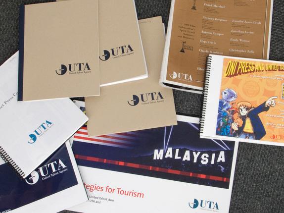 uta old materials 好莱坞经纪公司UTA发布新标识形象