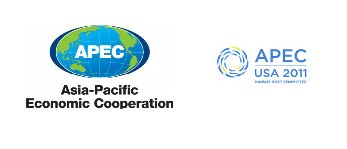 APEC 2011 2011美国夏威夷APEC(亚太经合组织)会议Logo