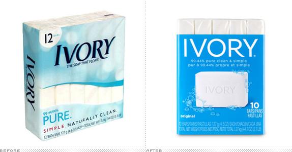 ivory5 宝洁旗下象牙肥皂(Ivory)品牌形象换新