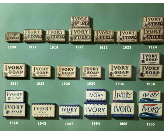 ivory14 宝洁旗下象牙肥皂(Ivory)品牌形象换新
