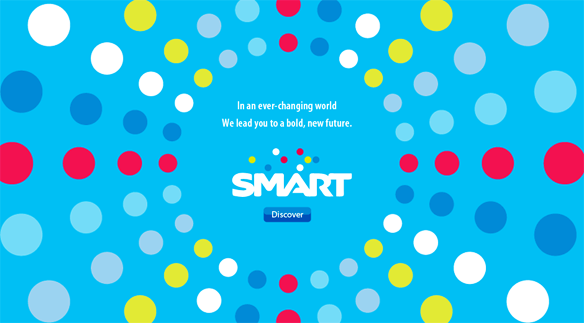 Smart Communications New Logo 菲律宾最大的移动运营商Smart通信公司启用新Logo