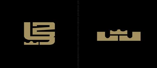 """2652057230584933633 """"小皇帝""""勒布朗・詹姆斯的个人系列品牌新Logo"""