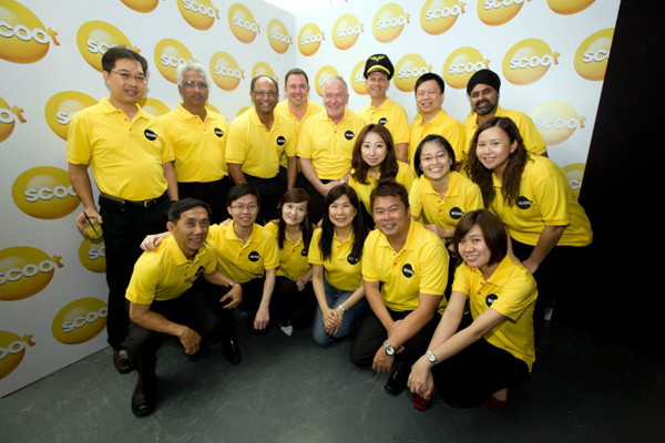 "scoot3 新加坡航空旗下长途廉价航空公司""Scoot""标识发布"
