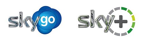 skygo 英国天空电视台德国分台新标识形象