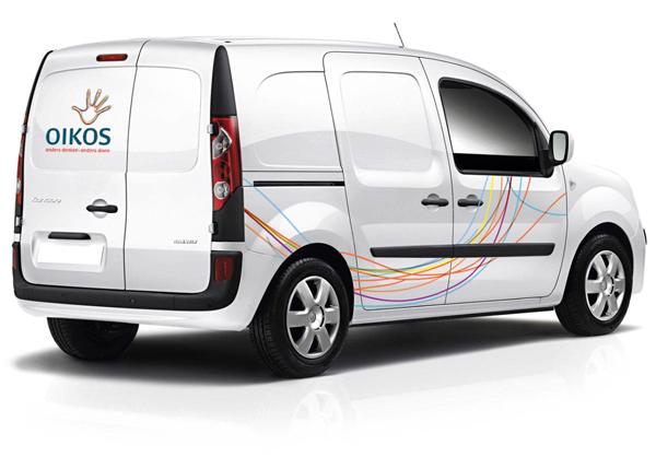 Oik car 荷兰的非政府组织Oikos换新Logo