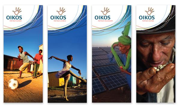 Oik banners 荷兰的非政府组织Oikos换新Logo