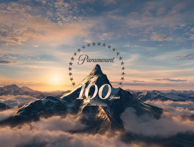paramount100 派拉蒙电影公司发布100周年纪念Logo