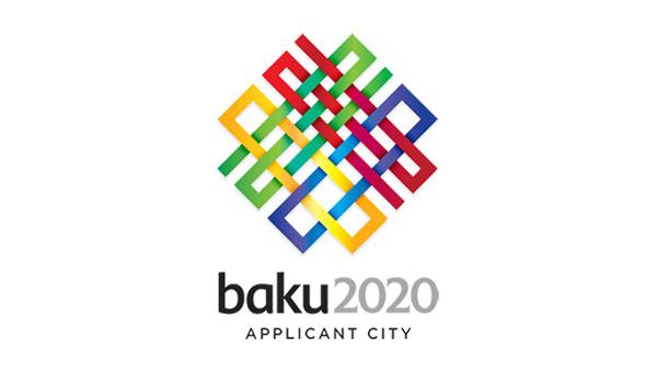 baku 2020 logo 阿塞拜疆首都巴库公布2020年奥运会申办标志