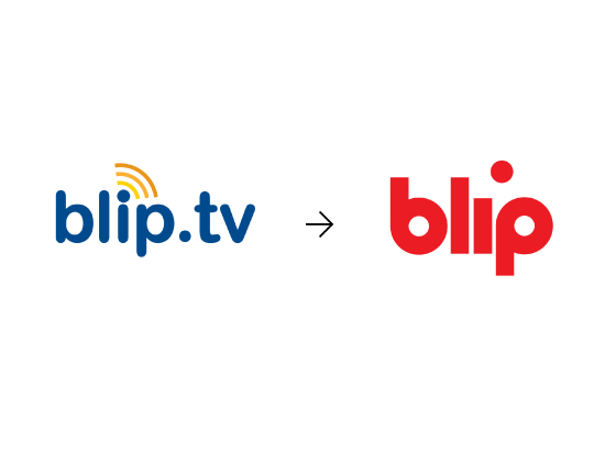 "cg website blip 2 网络电视服务商Blip.tv启用简化新品牌标识""Blip"""