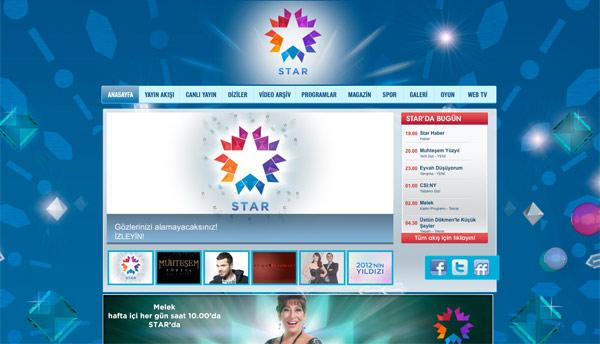 star tv homepage 土耳其Star TV启用新品牌标识