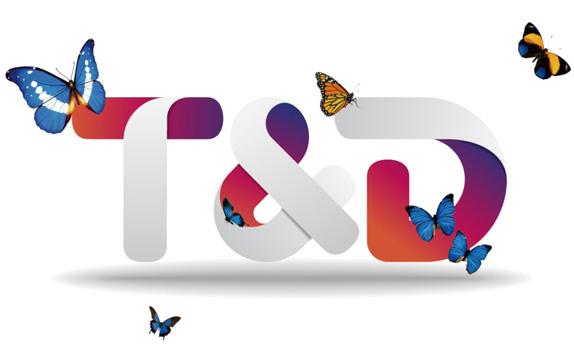 td logo detail 中国国际广播电台天地视频网新形象标志