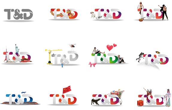 td logo various 01 中国国际广播电台天地视频网新形象标志