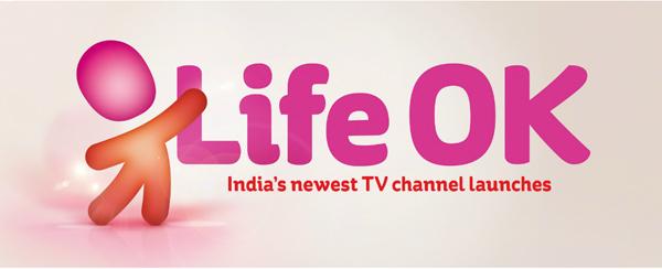 lifeok 印度新电视频道Life OK新品牌形象设计欣赏