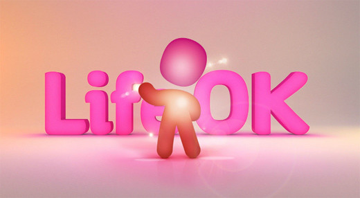 1290562768235542652 印度新电视频道Life OK新品牌形象设计欣赏